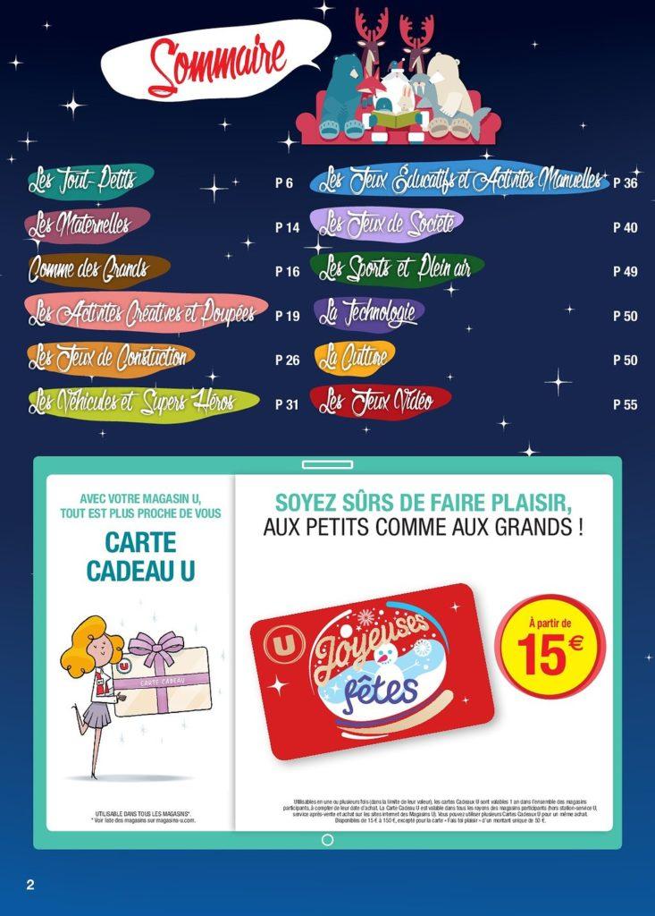 plus récent fc540 8ffec Catalogue Jouet Super U Noël 2018 - Catalogue Jouet