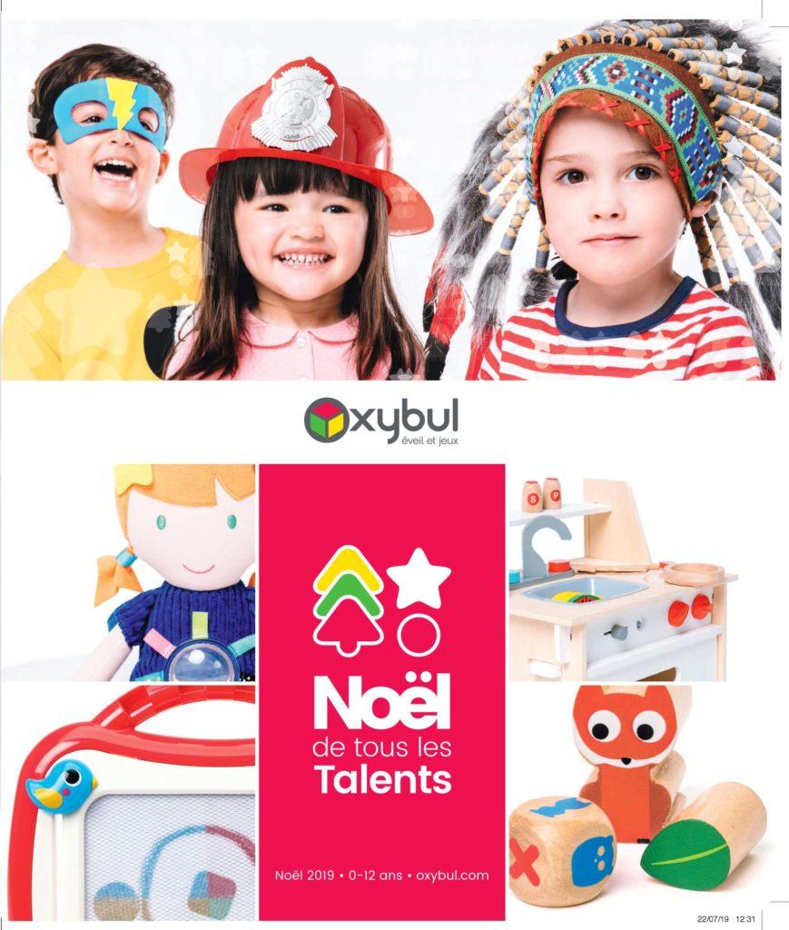 Catalogue Oxybul des jouets de Noël 2019