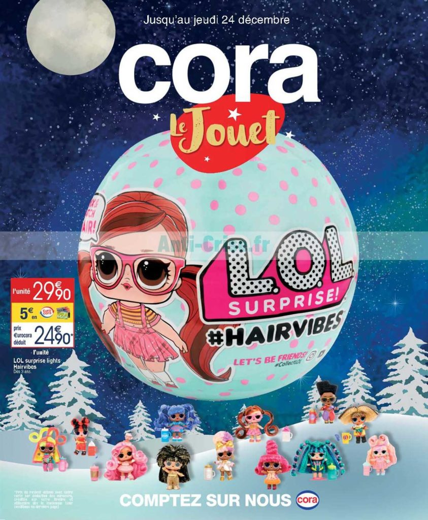 catalogue cora noel 2020