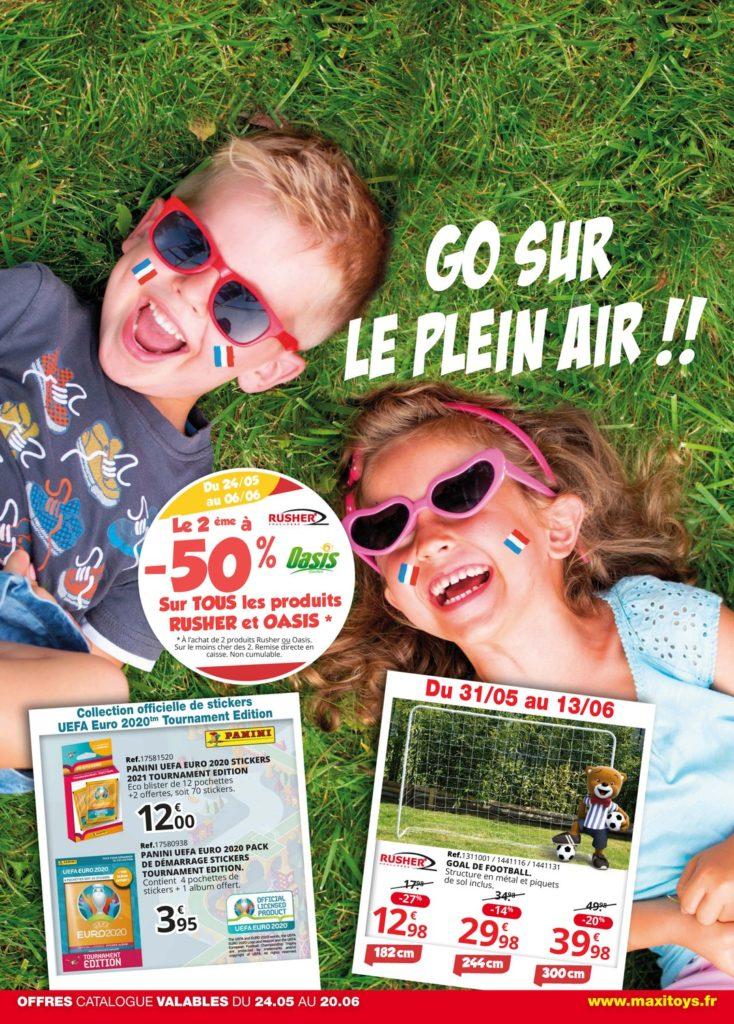Catalogue Maxi Toys Go Sur Le Plein Air 2021