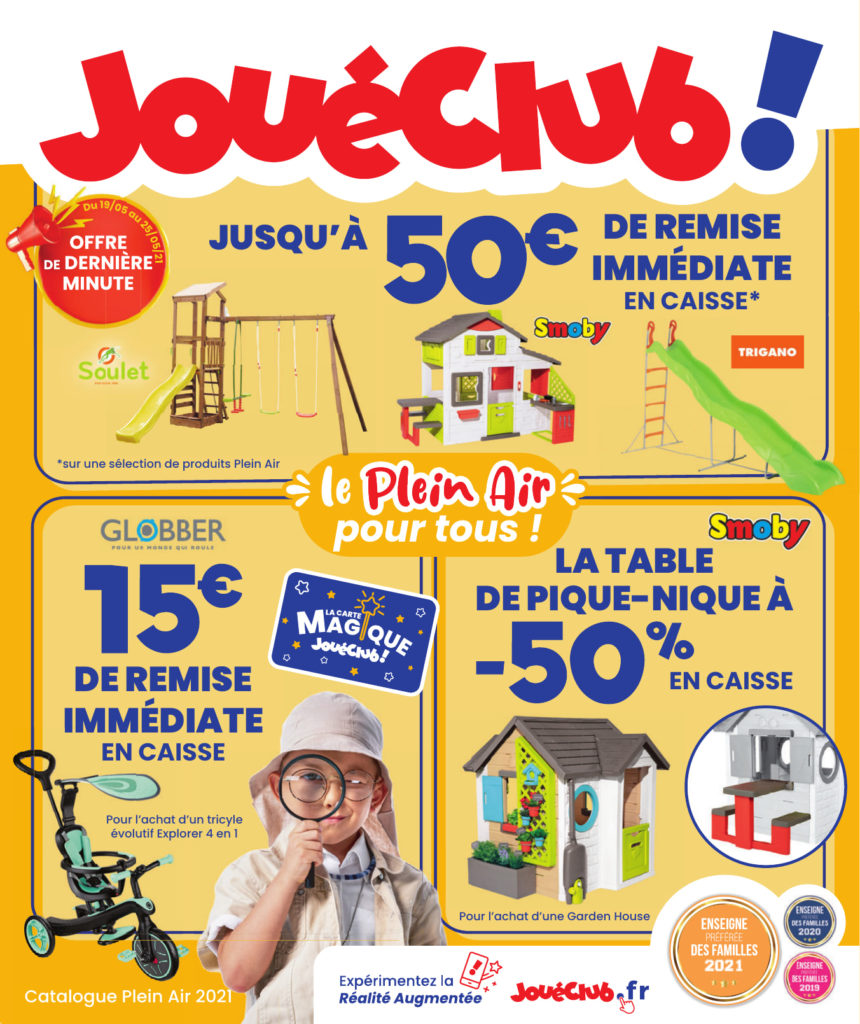 Catalogue JouéClub Plain Air 2021